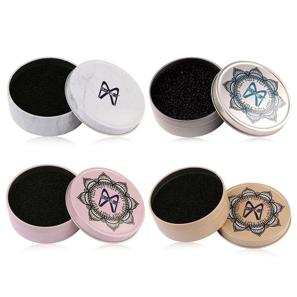 4 Styles Makeup Brush Cleaner Sponge Makeup Brushes Cleaning Mat Box Powder Brush Women Makeup Accessories Lahore
