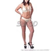 latex sexy bra in white (bras and briefs)