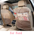 For Ford focus 2 focus 3 mondeo Fiesta f150 black waterproof car seat back stowing tidying Cover Children Kick Mat Mud Clean
