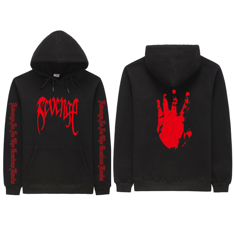 Xxxtentacion Revenge Blouses Men / Women Hoodies Rapper Hip Hop Sweatshirts Hoodie Sweatershirts Men / Women Hoodie Men's Clothi