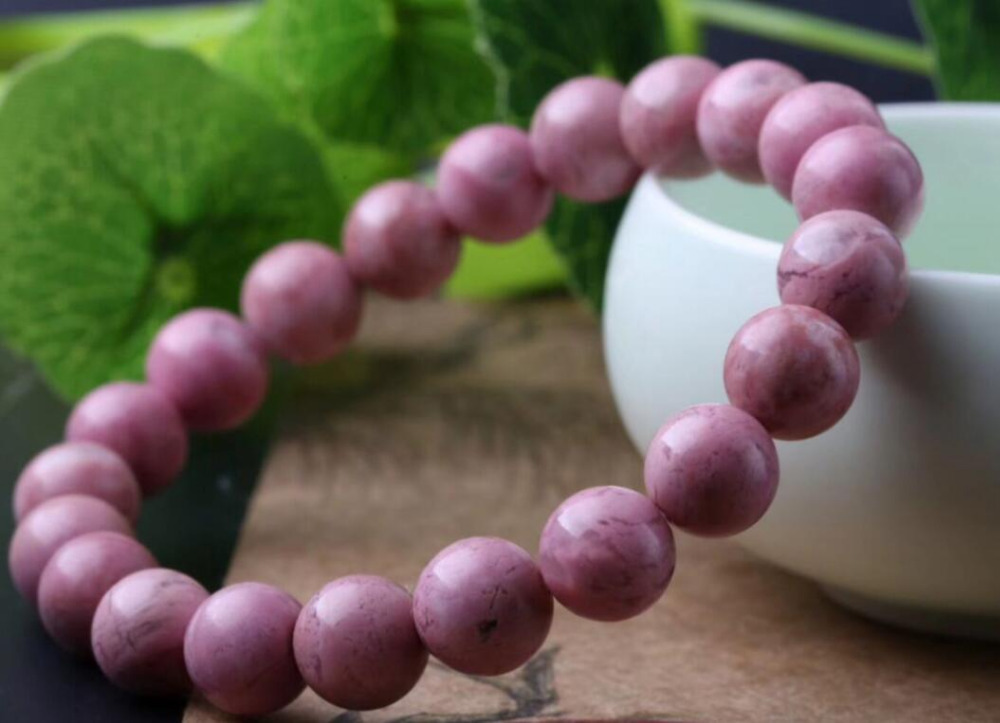 Livraison gratuite>> Bracelet AAA NICE 100% en cristal de Rose naturel