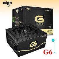 Aigo G6 active power supply Rated power 600W Max power 650W 12V atx pc desktop computer power supply fuente de alimentacion