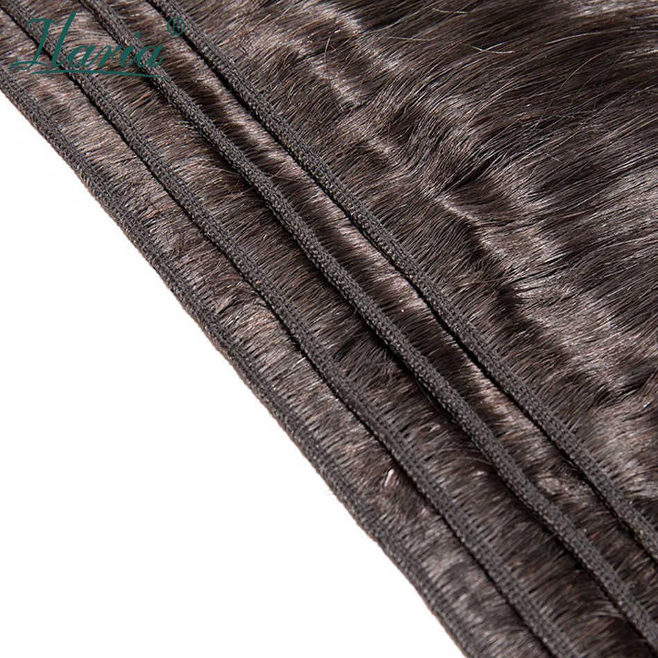Ilaria 30 32 34 36 38 дюймов 40 дюймов пучки волос 100% человеческие бразильские волосы плетение пучки волос объемная волна длинные девственные волосы утка 1/3/4 шт.