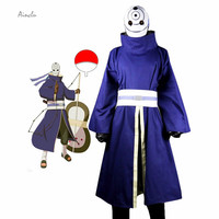Ainclu Hot Selling Naruto Uchiha Madara Halloween Cosplay Costume Japanese Anime Clothing