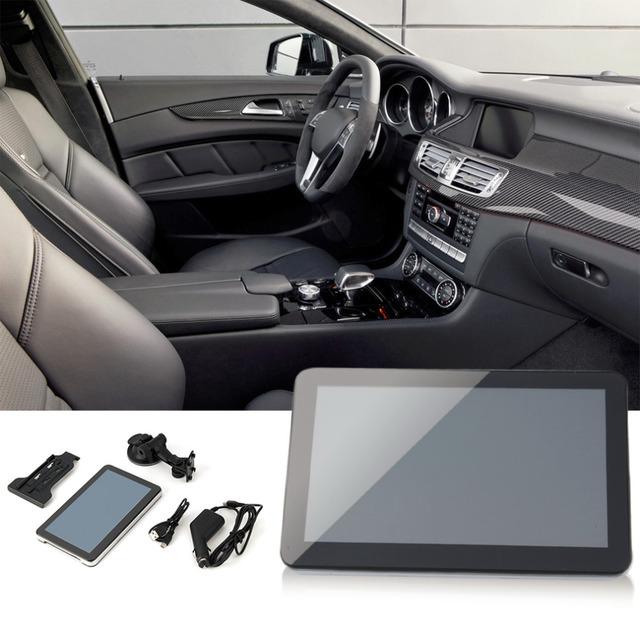 """7 """"HD 4G Carro Navegador GPS Sat Nav Navegação 7 polegada Mapa Áudio Music Video FM EUA Hot venda"""