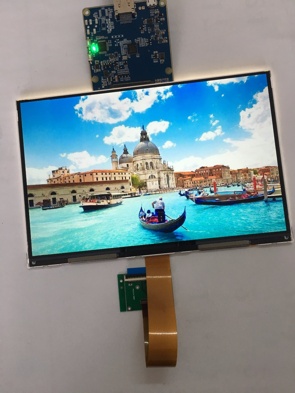 8.9 inch 2560*1600 2k 144p IPS lcd module display monitor with HDMI-MIPI board for diy 3d printer and DLP projector