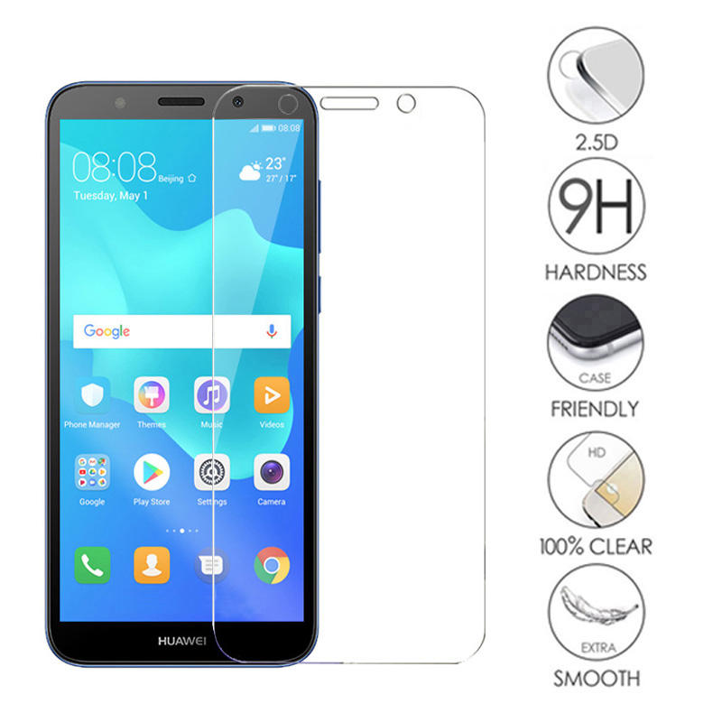 For Huawei Y5 Prime 2018 Tempered Glass Y5 2018 Screen Protector Y5 Prime 2018 Protective Glass Film 5.45inch DRA-L22 DRA-LX2
