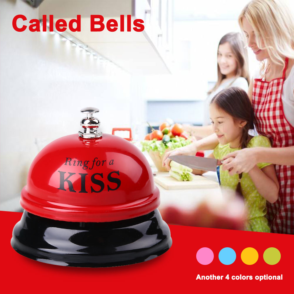 6 Colors Lovely Restaurant Hotel Bar Counter Bell Dishes Small Exquisite