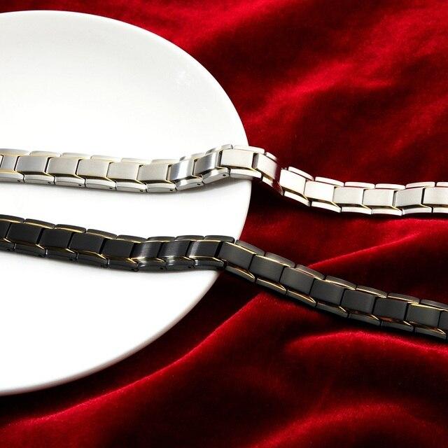 Высококачественные мужские браслеты браслет из нержавеющей стали