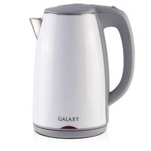 Чайник электрический Galaxy GL 0307 (белый) (Мощность 2000 Вт, объем 1.7 л, термоизолированный корпус)