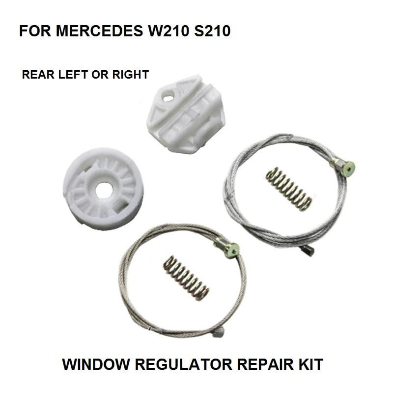 WINDOW KIT FOR MERCEDES W210 S210 ELECTRIC WINDOW REGULATOR REAR-LEFT 1995-2003