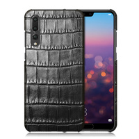 Luxury Genuine Crocodile Belly Skin Case For Huawei P20 P20 Plus Cover Original Crocodile Leather Back
