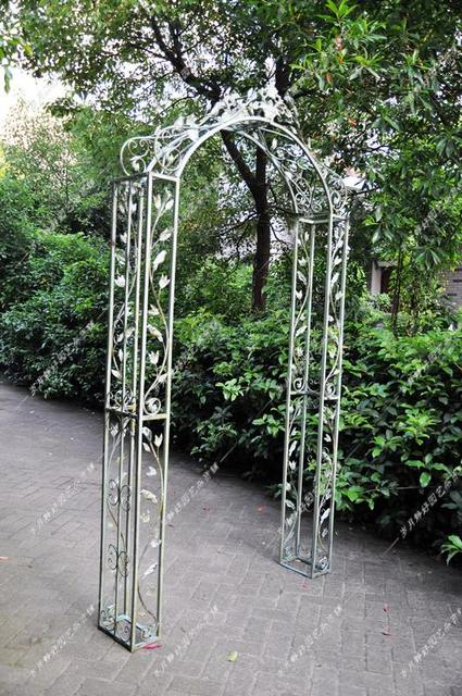 Garden Decor French Countryside To Do The Old Wrought Iron Archway Rose  Clematis Climbing Frame Gardening