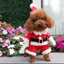 Apaulapet Рождественская собака одежда для домашних животных, котов; маскарадное платье зимняя одежда хлопковая флисовая одежда для собак Ropa Para костюм для собаки пальто