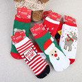 New Arrival Baby's Socks Infant Newborn Cute Short Cotton Socks Christmas Topical Pattern Kid's Socks Six Characters Available