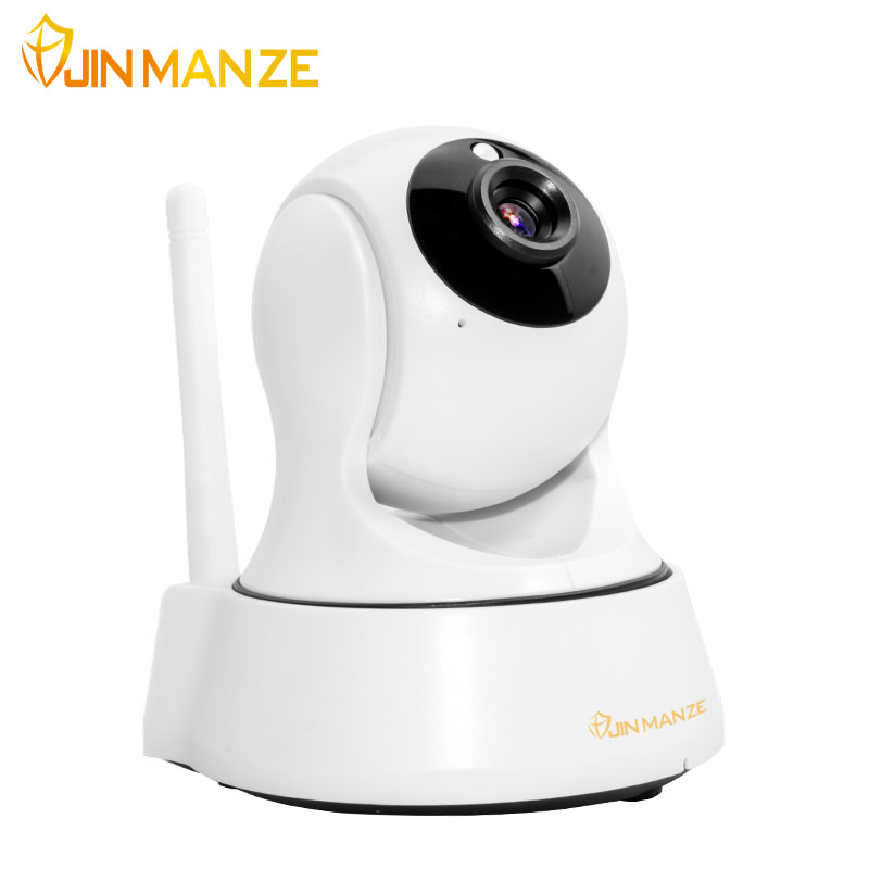 New JINMANZE 720P HD Wifi IP Camera Wireless Home Security Onvif P2P Surveillance Camera IR-Cut Night Vision CCTV Indoor Camera ip camera wifi 720p onvif wireless camara video surveillance hd ir cut night vision mini outdoor security camera cctv system