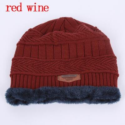 8f2aaf3a25dc4 Товар BINGYUANHAOXUAN 2017 Men Warm Hats Cap Scarf Winter Wool Hat ...