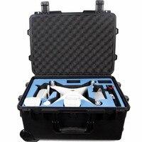 Preço de fábrica plástico leve dji phantom3 ou 4 caso com p3p4 espuma universal|case with foam|plastic foam casefoam case -
