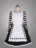 Alice Madness Returns Black And White Maid Cosplay Costumes