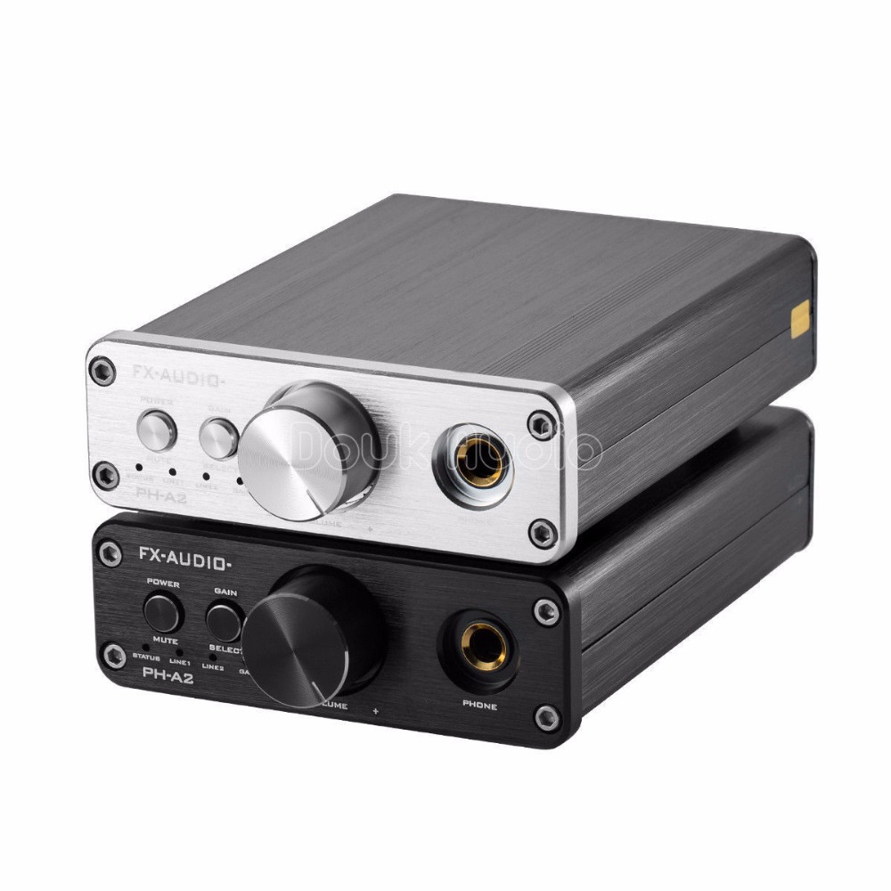 2018 Latest Music Hall TPA6120 HiFi Portable Headphone Amp Mini Stereo Audio Amp 3.5mm AUX/RCA IN proster headphone amplifier aluminum hifi amp 3 5mm aux interface stereo audio super bass amp for mp3 players portable cd player