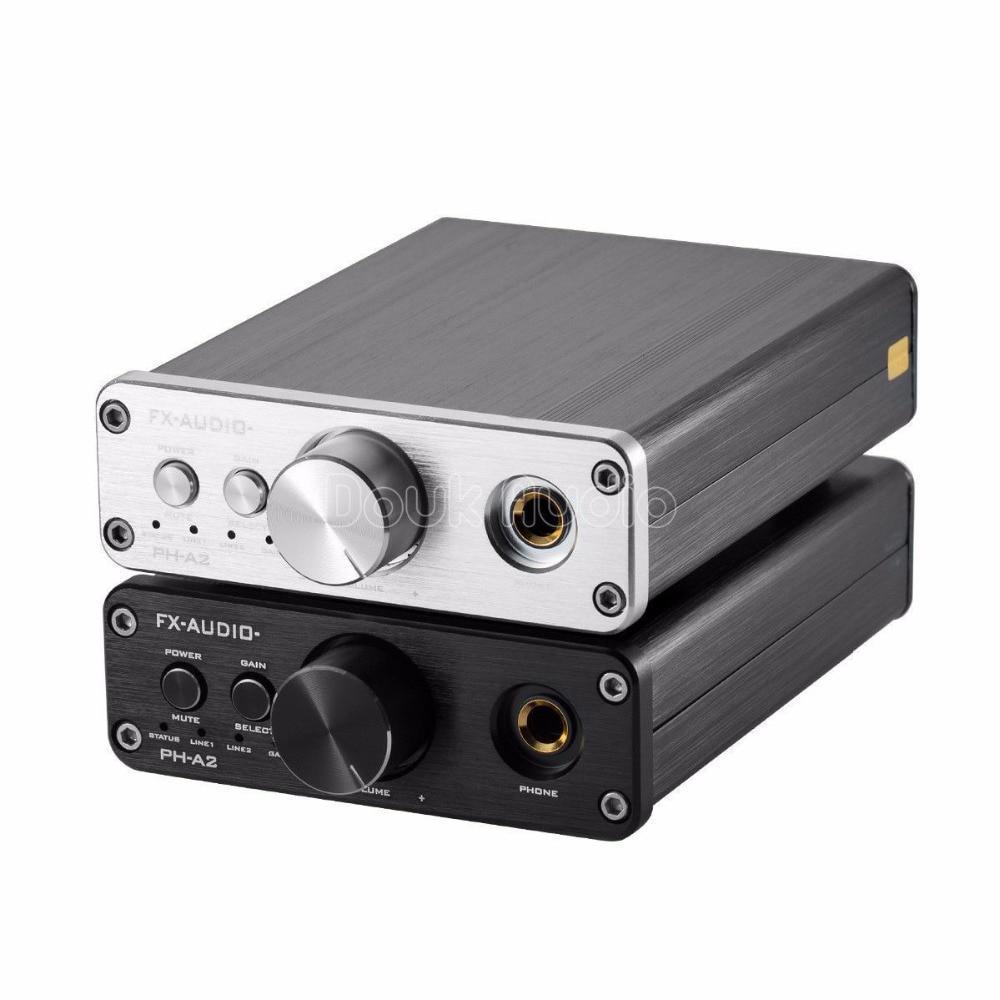 2018 Latest Music Hall TPA6120 HiFi Portable Headphone Amp Mini Stereo Audio Amp 3.5mm AUX/RCA IN усилители для наушников in akustik premium headphone amp no 1 00415005