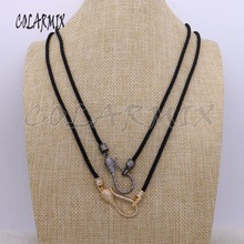Ювелирные изделия, ожерелье, длинное ожерелье, цепочка для халата с микро-проложенной подвеской, модное ювелирное изделие, ожерелье, подарок для леди
