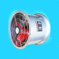 2.5B 4 10 Inch Cylinder Exhaust Fan Strong Mute Wall Ventilator Household Extractor Fan Kitchen Bathroom Draft Fan Small Blower