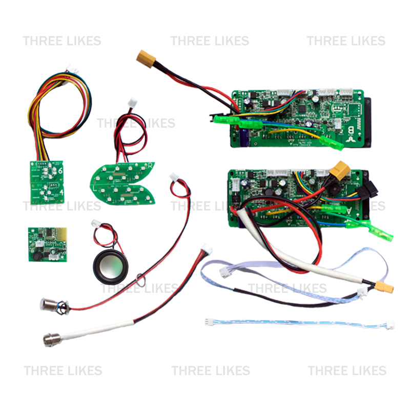 4 LED Hoverboard Double System Control Board Motherboard PCBA For 6.5 8 10 Inch 2 Wheel Self Balance Electric Scooter Skateboard