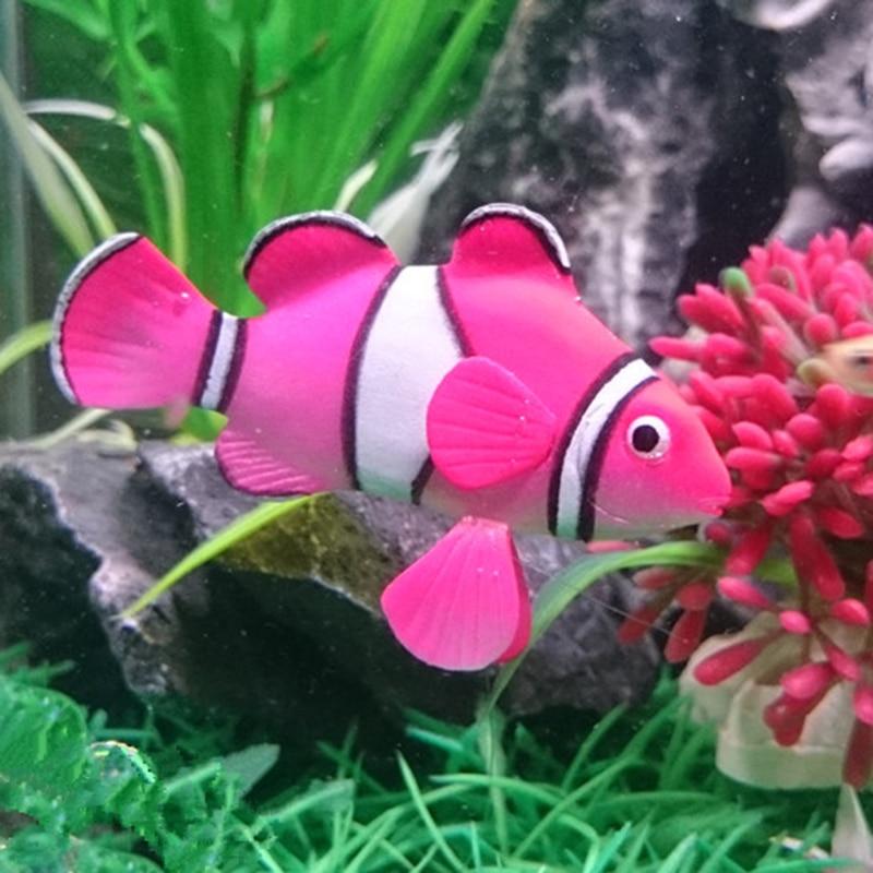 1pc Plastic Fake Fish Floating Artificial Pet