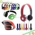Sobre los Auriculares Del Oído, ajustable de 3.5mm estéreo mini auriculares para el iphone samsung mp3/4 tablet computer pc para niñas, chicos, niños