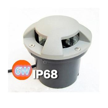 цена на Free Shipping, AC85~265V High Power 3*2W LED Buried Lamp Waterproof Outdoor Lighting led Underground Lamps, 2 Years Warranty
