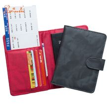 THINKTHENDO RFID Blocking Leather Travel ID Card Organizer Passport Holder Case Cover Protector Tool 14x10.2cm