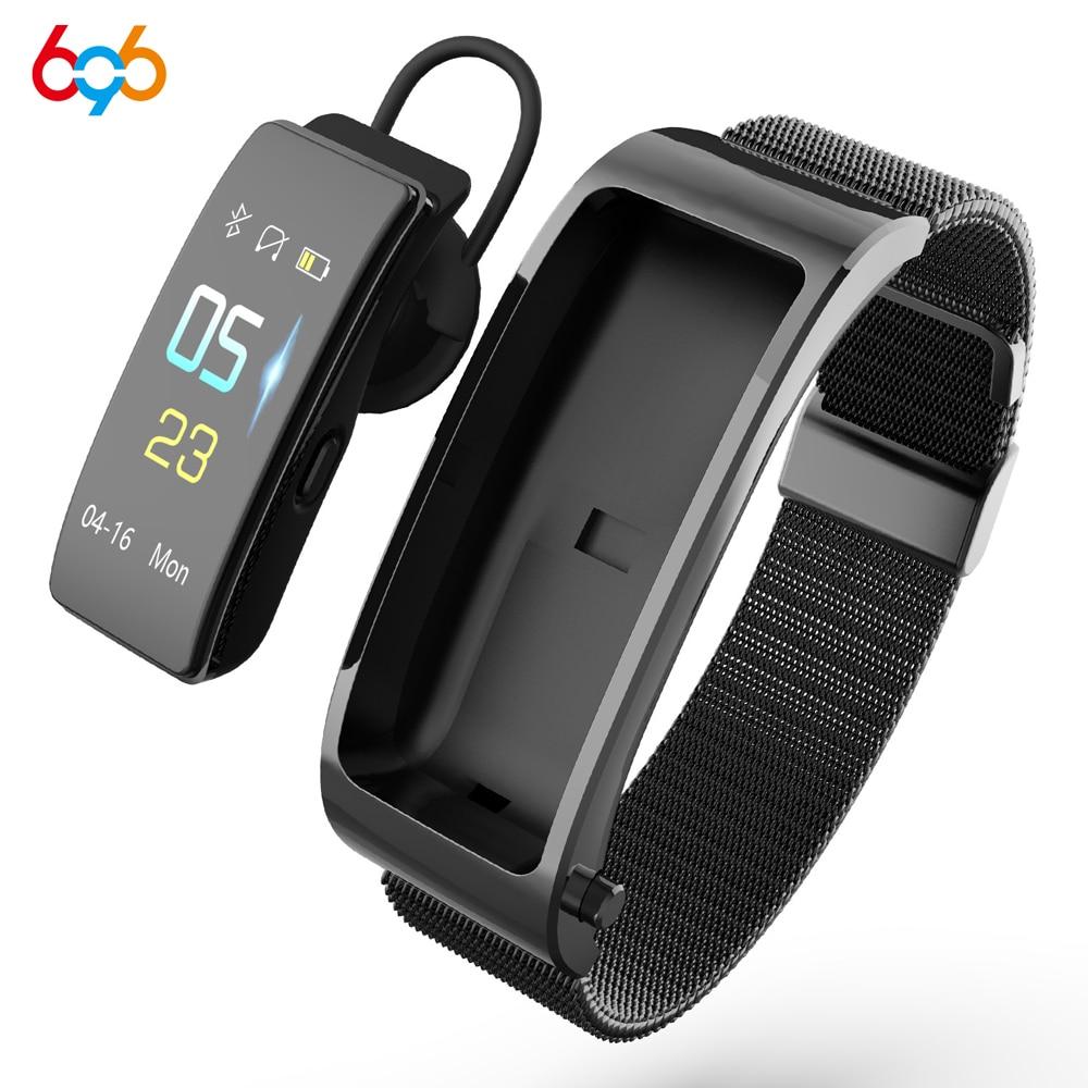 696 Y5 Bluetooth Call Smart Bracelet Heart Rate Blood Pressure Oxygen Sleep Monitoring Multifunction Two in One Design Bracelet