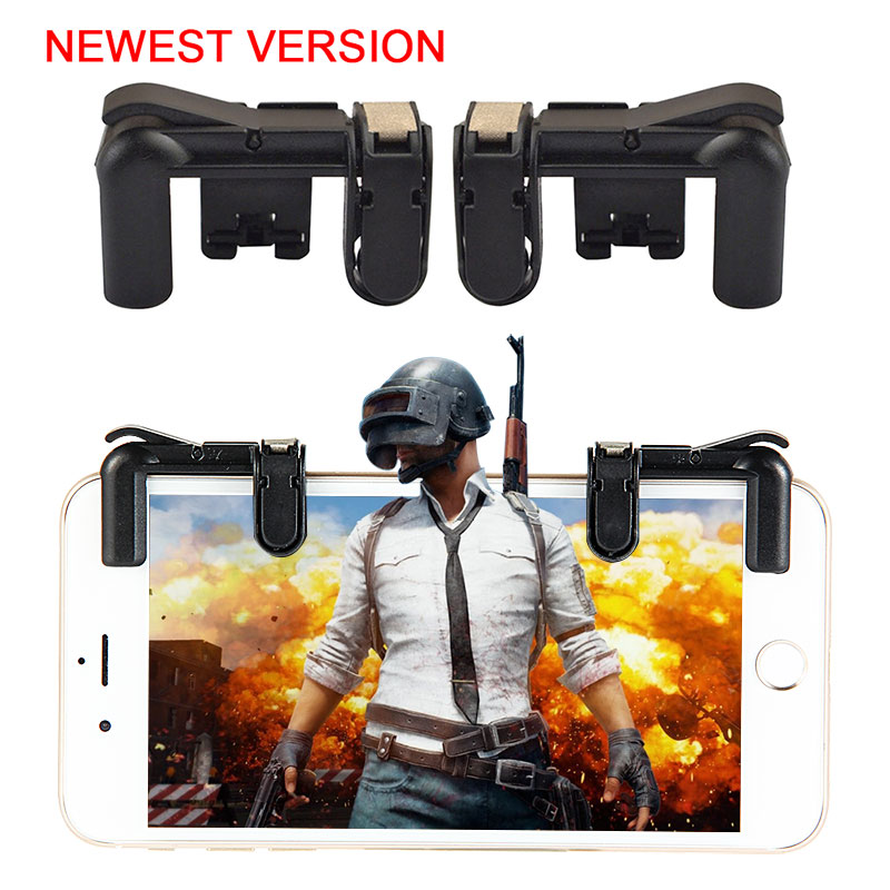Mobile Game Fire Button Aim Key Smart Phone Mobile Game Trigger L1R1 Shooter Controller For PUBG For Knives Out Gaming Accessory