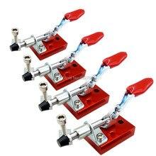 4 pçs máquina de gravura fixação platen cnc roteador fixação rápida placa braçadeira fixa montagem segure para baixo dispositivo elétrico trabalho chuck titular