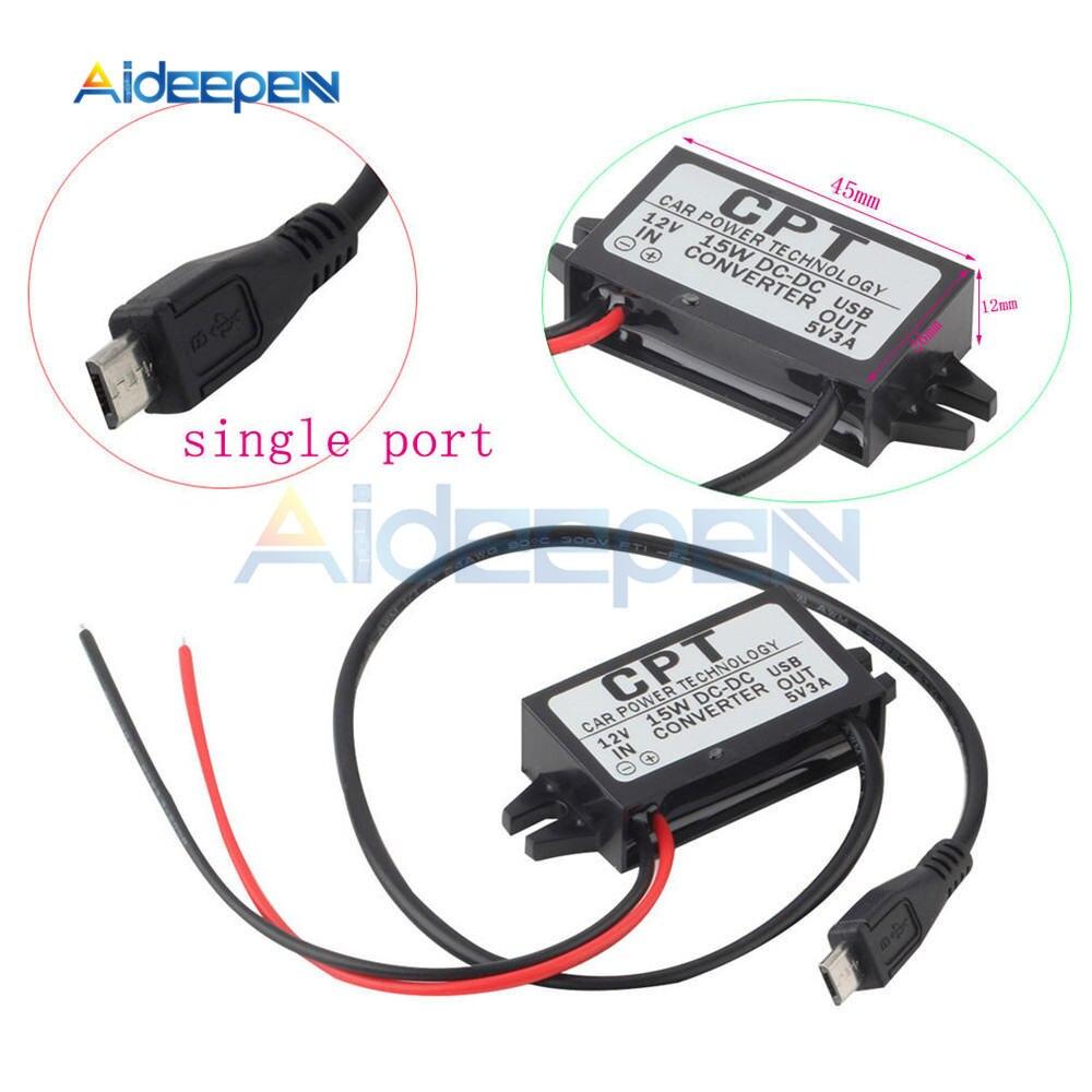 Dc Voltaje Estabilizador 8-40v To 12v//10a//120w Power Convertidor Regulador ~