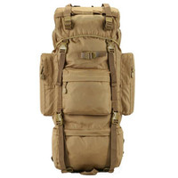 Men And Women 70 Litres Of Nylon Backpack Waterproof Metal Stents Travel Bags Military High Quality