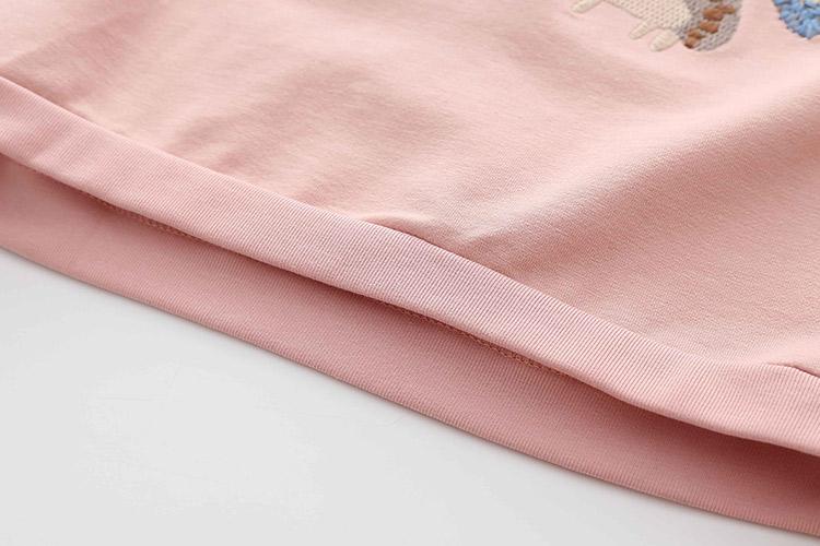 HTB1hnuraqmgSKJjSspiq6xyJFXaH - Kids Girls T Shirts Autumn 2018 Fashion Embroidery Pattern Kids T Shirt Long Sleeve Simple O-neck Children Clothing B0699