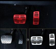 3pc for SKODA KODIAQ Rest plate Accelerator pedal Brake Metal decorative cover