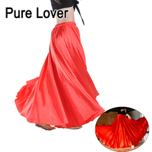PureLover Belly Dance Skirt Professional Dancing Costume Skirts Large wide Gypsy dancewear TQ001