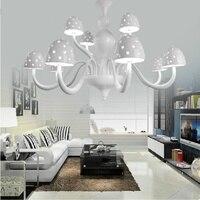 فطر الثريا قلادة مصباح الحديثة مع k9 كريستال الماس على غلافه ل غرفة المعيشة إضاءة المطبخ