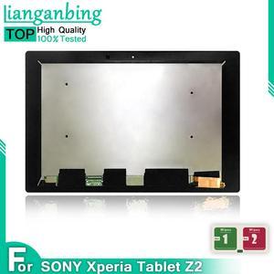 Lcd para sony xperia tablet z2 sgp511 sgp512 sgp521 sgp541 tela de toque digitador vidro assembléia display lcd frete grátis