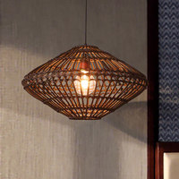 Southeastern Rattan Pendant Lamps Thailand Vine Pendant Lights Fixture Hanging Lamp Tea House Restaurant Home Indoor Lighting