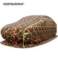 Winter thick car cotton velvet car cover car cover snow and cold weather anti theft warm quilt