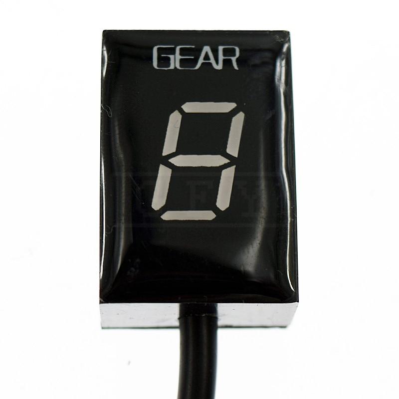 Motorcycle LCD Electronics 1-6 Level Gear Indicator Digital Gear Meter For Suzuki GSXR1000 GSXR 1000 2001 - 2016 K5 K7 K8 K9 K11 17 5 7 5cm gsxr gsx r motorcycle reflective sticker and decals a pair for suzuki gsxr 600 750 1000 k1 k2 k3 k4 k5 k6 k7 k8 h1