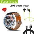 LEMFO LEM5 Bluetooth Smart Watch MT6580 Четырехъядерный Процессор с 50 типов Часов Режим для IOS Android Смартфон