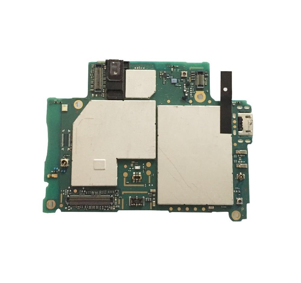 100 original desbloqueado trabalhando para sony xperia z2 d6503 l50u completo desbloqueio placa logica com chips