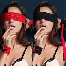 Маска для глаз + наручники = страсть и эротика