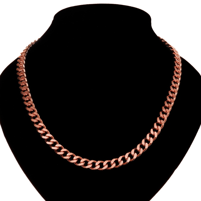 Aliexpresscom Buy Classic Mens Necklace Rose Gold Filled