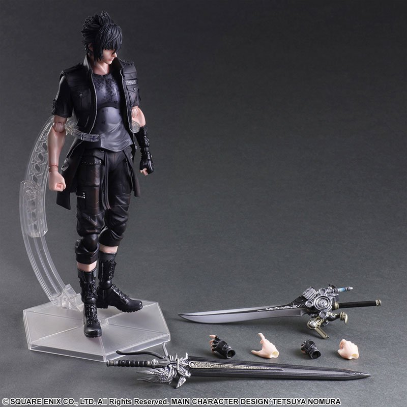 Final Fantasy XV 27CM Movable Model Decoration PA Kai Noctis Lucis Kellam Action Figurs for Fans цена 2017